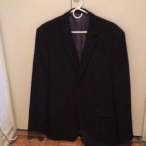 Perry Ellis Portfolio Slim Fit Black Blazer. 40R